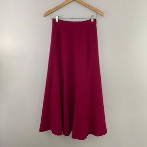Vintage Talbots Wool Maxi Skirt
